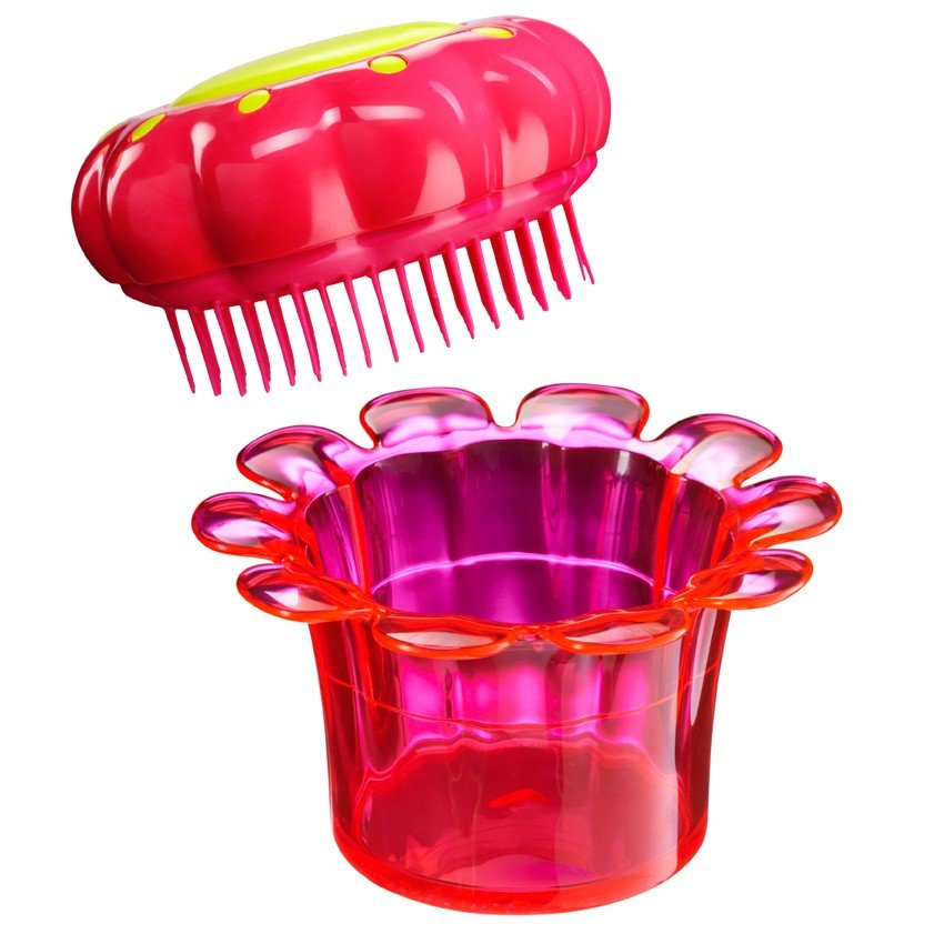 Расческа Tangle Teezer Magic Flowerpot Princess Pink - LEROSE.RU. Фото N4
