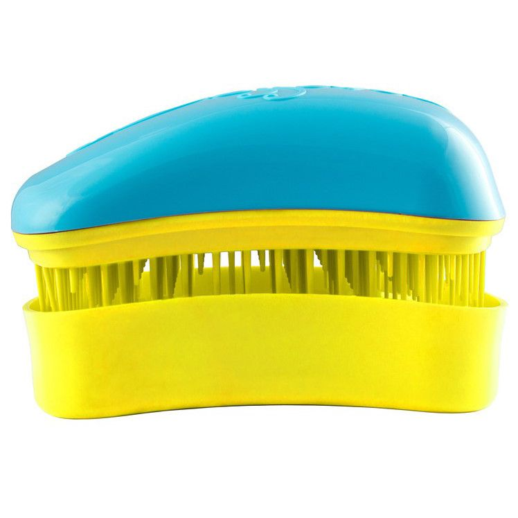 Dessata Hair Brush Mini Turquoise-Yellow