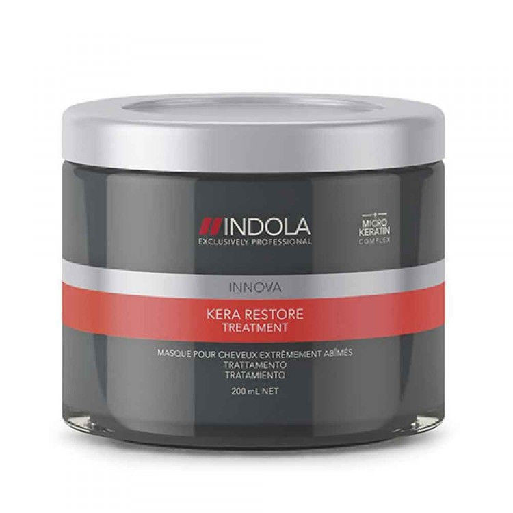 Маска Indola Kera Restore Treatment Кератиновое Восстановление купить в Санкт-Петербурге. Фото N2
