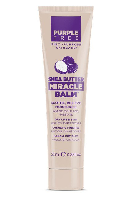 Бальзам для губ Purple Tree Miracle Balm Shea Butter с маслом ши - LEROSE.RU. Фото N2