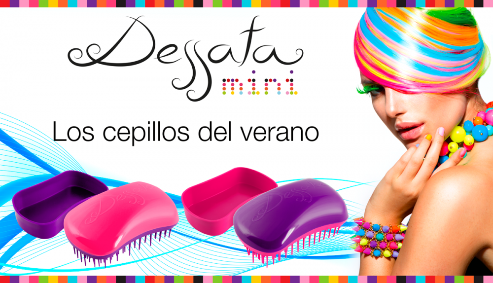 Расческа Dessata Hair Brush Mini - LEROSE.RU