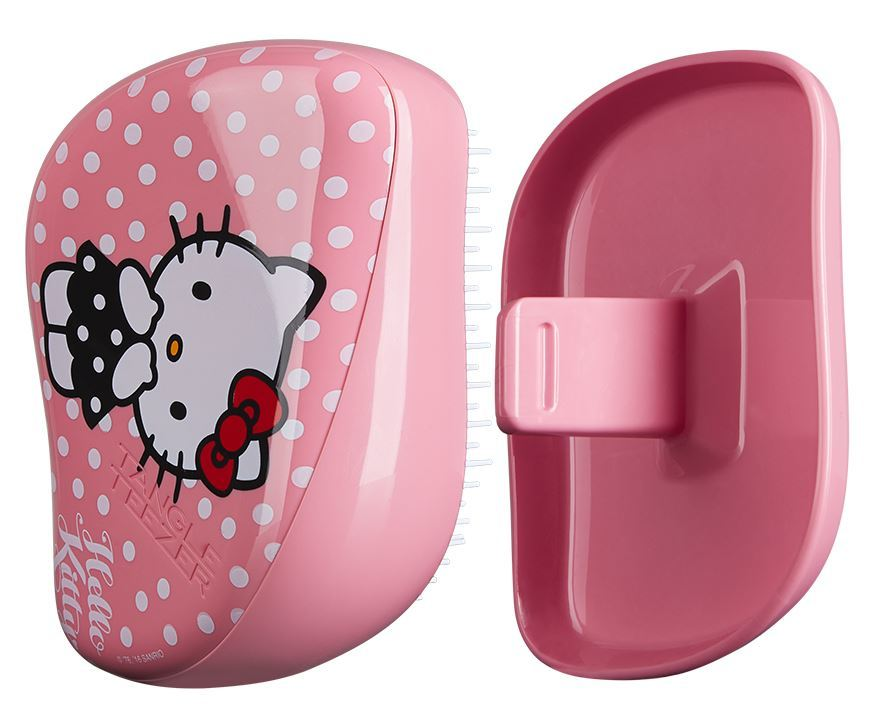 Расческа Tangle Teezer Compact Styler Hello Kitty Pink - LEROSE.RU. Фото N5