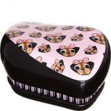 Расческа Tangle Teezer Compact Styler Pug Love - LEROSE.RU